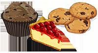 Pôle 1 : Tour, petits fours secs et moelleux gâteaux de voyage